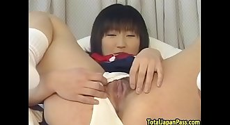 Asian schoolgirl pounded after oral act
