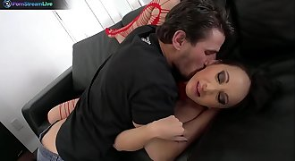 Amazing asian Katsuni begging Manuel Ferrara to fuck her vagina