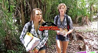 Alyssa Cole And Haley Reed in Backwoods Bartering Fucks